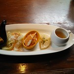 菜もん - ランチの前菜