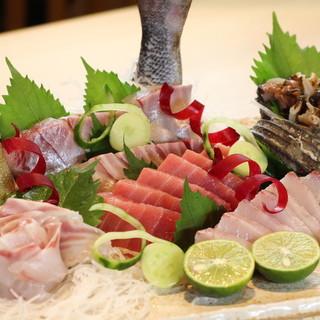 【嬉しい価格・旨い肴】魚好きを虜にする充実の単品魚料理!