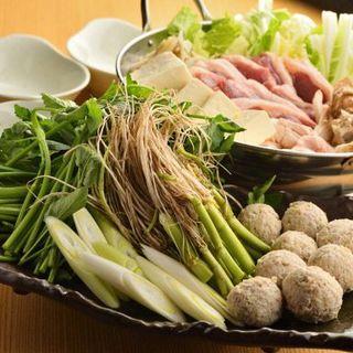 仙台せり鍋を堪能する多彩なコース。季節のご宴会に◎