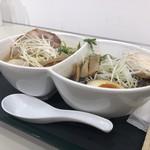 鶏 ソバ カモシ - 味比べセット