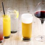 きみまち坂 - 日本酒以外にも、ビールはサッポロ白穂乃香。サワー、ソフトドリンク、ワインなどございます。