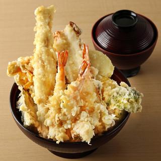 両国店限定!メガ盛り、横綱天丼!!