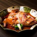 飛騨路 - 金目鯛のかぶと煮