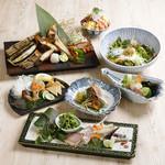 きみまち坂 - おつまみ中心のコース料理