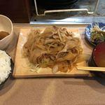 大衆居酒屋 ちゃぶ屋 - 生姜焼き定食