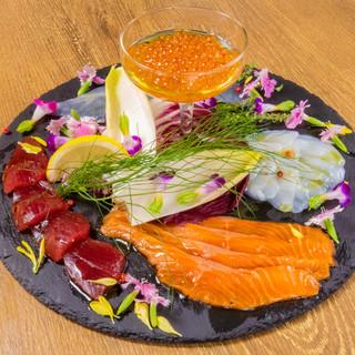 ☆シェフ厳選産直鮮魚!!カルパッチョ