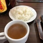 93065333 - ライス & スープ