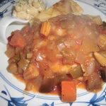 ラ・コンセルジュ - 若鶏の野菜とトマトソース