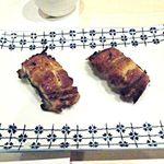 和食の店 なかや - 三重産鰻¥400×2