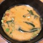 ヒトシナヤ - 味噌汁