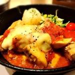 029吉祥寺食堂 - 美桜鶏のトマトチーズフォンデュ
