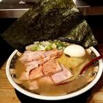 93068359 - すごい煮干ラーメン(特製)