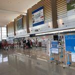93068881 - 函館空港の様子