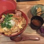 カッシーワ - カレー親子丼②