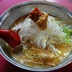 龍上海 - 冷やしから味噌ラーメン