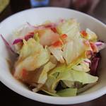 プラーナ - ランチのサラダ
