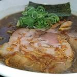 札幌鮭ラーメン麺匠 赤松 - 焦がし醤油