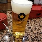 廻転ずし とっぴ~ - ドリンク写真:グラスビール 302円