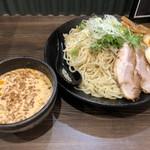 北海道らぁ麺 ひむろ - 冷やし胡麻ダレつけ麺