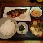 とんとん 義太郎 - さば焼き定食 500円