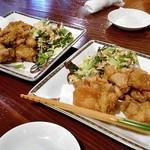和食 美やま - 料理写真:若鶏の唐揚