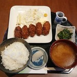 なごみ - カキフライ定食