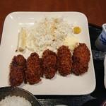 なごみ - カキフライ(カキフライ定食)