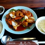 喜多八菜館 - 料理写真:酢豚定食