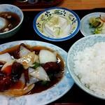 中華飯店青柳 - 酢豚定食