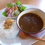 Cafe 茶楽 - ビーフカレー