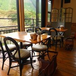 Cafe 茶楽 - 店内