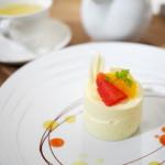 スィーティーズ - ケーキセット(レアチーズ、レモンミント)