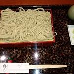 鶴よし - せいろそば(850円)