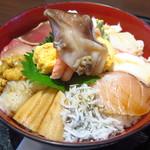 93075448 - 海女漁師二段仕込 スーパー海鮮丼