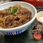 なか卯 - 料理写真:黒毛和牛丼アスナ付き~☆