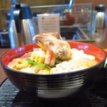 93075473 - 海女漁師二段仕込 スーパー海鮮丼