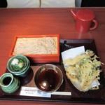 土風炉 - 天ぷら蕎麦