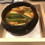 93084033 - 炊き餃子 赤担々味噌