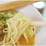 TORISOBA 雄 - コリっとした麺。