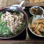 めん吉 - 料理写真:肉ごぼう天うどん=650円
