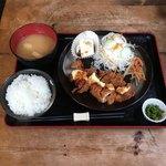 Cafe&Dining UP - 料理写真:チキンタルタルカツ定食   ¥730