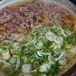 裕英うどん - 料理写真:肉うどん