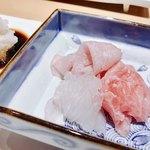 鮨 弁慶 海 - 料理写真:○お造り様