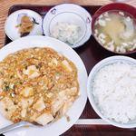 柿屋 - 料理写真:『麻婆豆腐定食』様(750円)※御飯は少な目にしてもらってますw