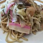 四海樓 - 皿うどん(太麺)
