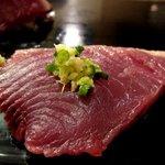 六法すし - 鰹は生姜で食べる