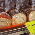 東京堂製パン屋 - ロールケーキ♪130円
