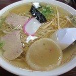 丸竹食堂 - 中華そば 450円