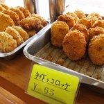 東京堂製パン屋 - フライ物が♪(コロッケ、えびカツ・・)