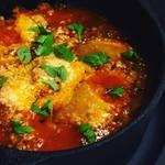 千真野 - 紫波産ジャガイモのミートソース煮